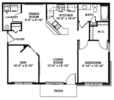 The highlands apartments cunat inc for Sheffield floor plan