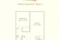 Hilltop 1 Bedroom - 586 Sq. ft_ (002)