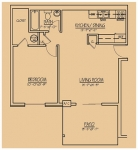 Willow Brooke Apartments for Rent , Floor Plan